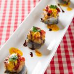 欧味食卓サラマンジェ・ガラ - 秋刀魚のポピエットサフラン風味 旬の魚を使っています