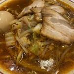 naratenrira-mentempuu - 奈良天理特製スタミナらーめんには白菜とニンニク・唐辛子が入ったピリ辛らーめん