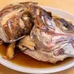 活魚料理 びんび家 - 2021.8 鯛アラ煮(1,300円)