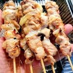 北見焼鳥商店 ワタリ鶏 - 料理写真:鶏串