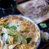 ふるさと紀行 - 料理写真:カツ丼 + 冷たい蕎麦(880円)