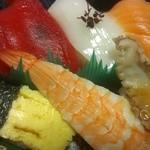 前橋鮮魚センター - 料理写真:生寿司500円