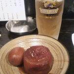 15726781 - ビールと味噌おでん