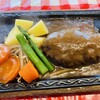 グリル・ラクレット - 料理写真:100%ビーフハンバーグステーキ 160g
