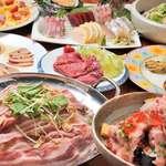 やひろ丸 - おすすめ5,500円コース(料理+飲み放題150分付)