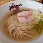 らーめんstyle JUNK STORY - 令和3年8月 柚子香る冷やし塩らーめん 1000円