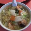 干楽中華菜園 - 料理写真:海老そば850円
