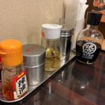 麺や 心楽 - にぼし酢がグッド