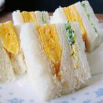 西アサヒ - 本流「西アサヒ」のエッグ・サンド