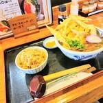 久兵衛 - 料理写真:肉ごぼう天セット(¥980)