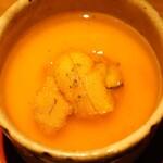 Sakaishoukai - フルーツトマトと雲丹の冷製茶碗蒸し