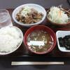 秋北食堂 - 料理写真:とりもつ定食 700円 (2021.8)