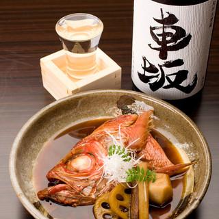 淡路島の新鮮食材と全国各地の日本酒!