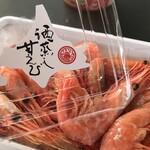 甘えびファクトリー蝦名漁業部 - 酒蒸し甘エビ