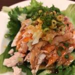広東料理 東田 - 棒棒鶏(550円)