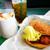 ラッキーピエロ - 料理写真:一番人気の「チャイニーズチキンバーガー」です^ ^