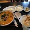 歓迎 - 料理写真:本日の定食 5.担々麺,小ライス,餃子