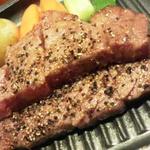 仙台かき徳 - 仙台牛サーロインのグリル焼き