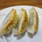 麺家 浜風 - 半ギョーザアップ