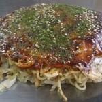 15730899 - お好み焼き(そば、肉、卵)720円