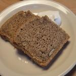 レディバードキッチン - ほうじ茶と甘栗のパウンドケーキ