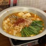 もつ鍋 亀八 - 情熱の赤(1人前) 1,380円×2