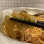 もつ鍋 亀八 - 和牛あぶらカストッピング麺 680円×2 (リフト)
