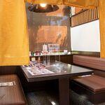 和食 さつき - 全席にパーテーションを設置しております。