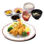 和食 さつき - ミックスフライ定食