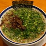 田中商店 - 2012.11 ねぎ叉焼麺(980円)