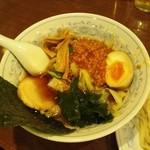 風神ラーメン - 風神つけ麺(醤油)つけ汁