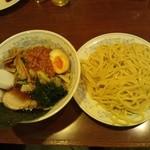 風神ラーメン - 風神つけ麺(醤油)