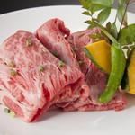 かわちどん黒川本家 - 料理写真:かわちどんでしか食べれない名物肩肉