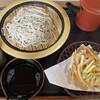 小代 行川庵 - 料理写真:もり蕎麦とかき揚げ