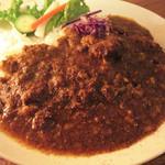 ガネーシャ - 黒毛和牛の牛スジ煮込みカレー