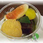 15733422 - 宇治抹茶パフェ(単品¥400・ドリンクセット¥600)
