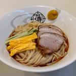 麺屋 侍 - 料理写真:ブラック冷やし中華