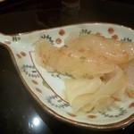 趣肴 あおき - 2012.11 白えびの握り、、プリプリでした。