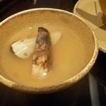 趣肴 あおき - 2012.11 これしかないでしょってもの、秋の味覚松茸♪