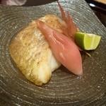 趣肴 あおき - 2012.11 焼物は鯛だったと思います。