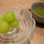 趣肴 あおき - 2012.11 デザートはフルーツ