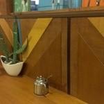 ロブソン コーヒー - カウンター席