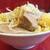 ラーメン二郎 - 料理写真:ラーメン半分+ニンニク多め+ショウガ半分