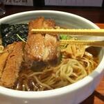 麺屋江武里 - 「江戸醤油ら~麺 大盛」チャーシュー