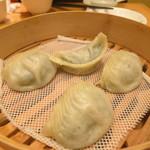 鼎泰豐 - 野菜豚肉入り蒸しギョーザ