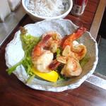 Kururu - 海老のガーリック焼き