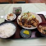 千草 - カキフライ定食