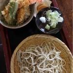 15737952 - 天丼➕ざるそば  1150円