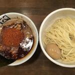 麺処 井の庄 - 辛辛魚 味玉つけめん(アップ1)