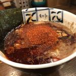 麺処 井の庄 - つけだれ(アップ)